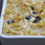 Recipe of the Month: Ricotta Noodle Kugel with Dried Blueberries and Lemon Zest