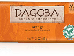 Dagoba orange chocolate photo