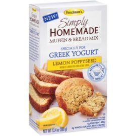 Fleischmanns lemon poppyseed muffin mix product