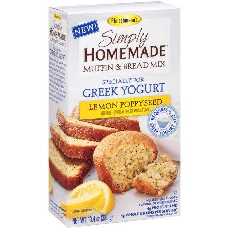 Fleischmanns lemon poppyseed muffin mix product