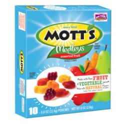 Mott's Medley's Fruit Snacks 21-Oct-14