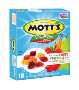 Mott's Medley's Fruit Snacks 21-Oct-14