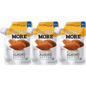 Naturally more almond butter pouches