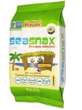 SeaSnax Roasted Seaweed Snacks 29-Jul-14