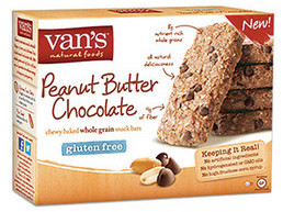 Van's Natural Foods Chewy Baked Whole Grain Snack Bar 28-Oct-14