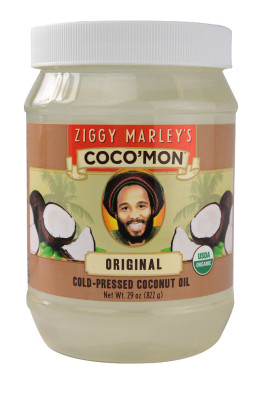 Ziggy Marley's Coco'Mon Organic Coconut Oil 7-Oct-14