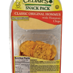Product Review: Cedar's Snack Pack Original Hommus with Hommus Chips