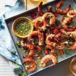 Cooking Light: Honey-Brined Grilled Shrimp