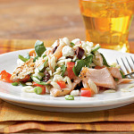Cooking Light: Heart-Healthy Mediterranean Salmon Salad