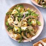 Cooking Light: Tortellini, Chicken, and Arugula Salad