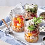 Cooking Light: Veggie Salad in a Jar